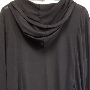 Eyeshadow Sweaters - Eyeshadow Black Light Hoodie Coverup